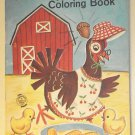 Henny Penny Coloring Book, Artcraft late 1950's - early 1960's, nice shape, complete