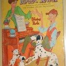 Disney Roger & Anita Coloring book 1960 rare, One Hundred One 101 Dalmatians