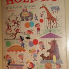 Holiday Picture Book, 1962, heavy duty cardstock pages, unusual, vintage children's book