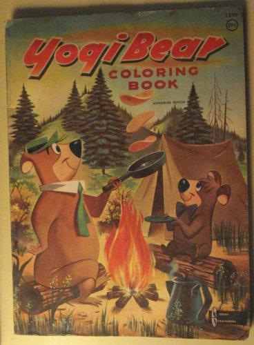 Yogi Bear (& BooBoo & Huckleberry Hound) Coloring book, 1959