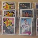 3 rack packs 1989 Topps Baseball cards, never opened, 42 cards each! (hanging rak paks)