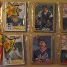 TWO unopened 1987 Topps Baseball card rack packs (hanging rak paks) Barry Larkin on top