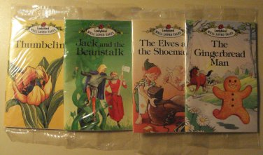 Four Ladybird & Long John Silver's Classic tales books - complete set! Thumbelina Jack Beanstalk +
