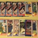 63 Nolan Ryan baseball cards, Donruss, Fleer, Topps, Score, Upper Deck, NM/M