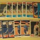 31 Tom Seaver baseball cards, Donruss, Topps, Fleer, NM/M