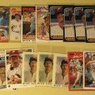 46 Mike Schmidt baseball cards, Donruss, Fleer, Topps, Score, Bowman, NM/M