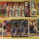 16 Darryl Strawberry baseball cards, Rookie, RC, Topps, Fleer. Donruss, NM/M