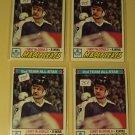Four (4) 1977/78 Topps Lanny McDonald Hockey card #110, Toronto Maple leafs