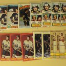 24 Gilbert (Gil) Perreault Hockey cards, Topps, various years