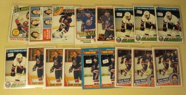 17 Denis Potvin Hockey cards, Topps, various years