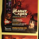 1999 Inkworks promo promotional flyer/poster Planet of the Apes Archives 8.5 x 11