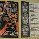 2001 DC Comics promo promotional checklist card Our Worlds at War Superman Batman JLA