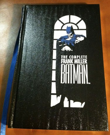 The Complete Frank Miller Batman LEATHER hardback HC, 1st print 1989 NM/M Old Store stock never read