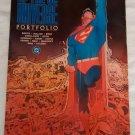1986 History of the DC Universe Portfolio, complete, 10 plates, various artists, Batman, Superman