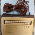Vintage Jerrold corded TV remote control Model #TRC-82-3 1960's? 1970's?