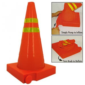 COLLAPSIBLE LIGHT-UP TRAFFIC CONE