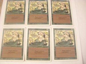 Magic The Gathering  - Regeneration Set of 6