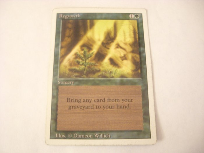 Magic The Gathering - Regrowth