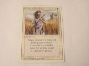 Magic The Gathering - Swords to Plowshares