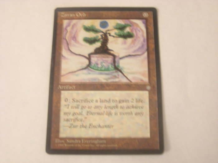 Magic The Gathering - Zuran Orb