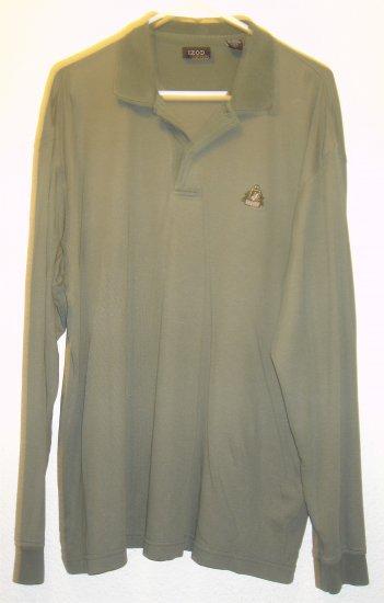 IZOD polo style shirt sz Large 00022
