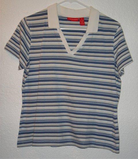 Gloria Vanderbilt shirt sz Medium 00048