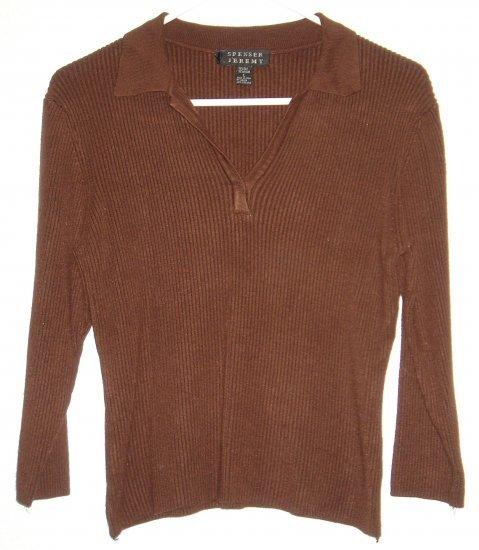 Spenser Jeremy shirt sz Large silk 00203