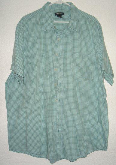 Cherokee button front shirt sz XXL 00206
