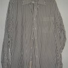 Nordstrom button front shirt sz 16 34 00208