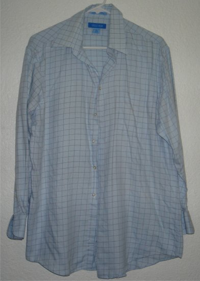 Savile Row button front shirt sz Medium 15-1/2 32/33 00235