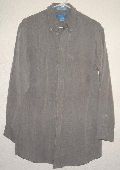 Savile Row button front shirt sz Medium 15-1/2 32/33 00238
