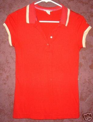 American Eagle polo style shirt sz Medium 00342