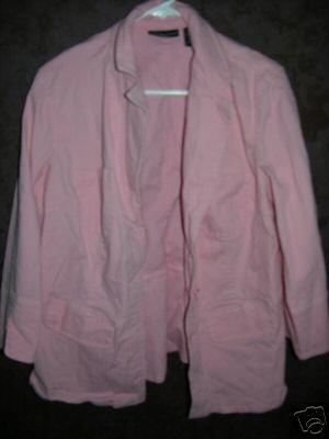 apostrophe woman shirt jacket sz 16W 00365