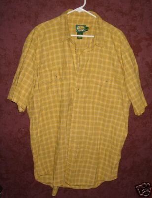 Cabela's button front shirt sz Large Tall 00401