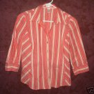 Old Navy button front shirt womens sz Small perfect fit 00406