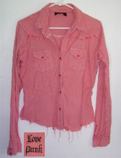 Hurley button front shirt sz Large 00439