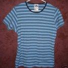 ADIDAS tee shirt sz Large womens 00481