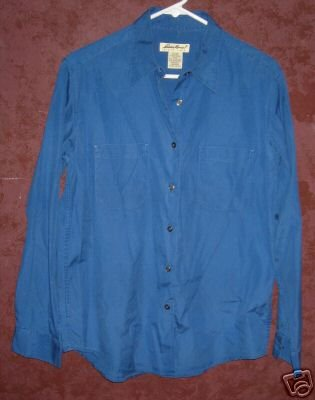 Eddie Bauer womens shirt sz Medium 00513
