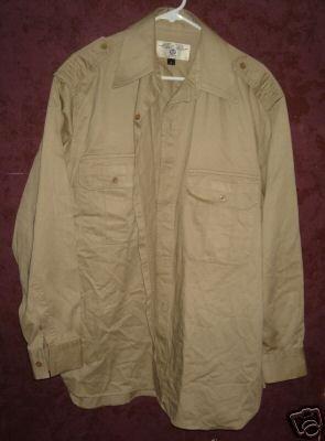 AVIREX button front shirt sz Large 00568