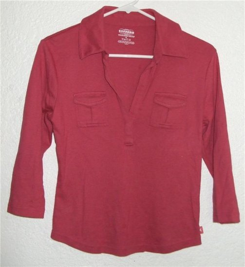 EXPRESS shirt sz Medium womens 00596
