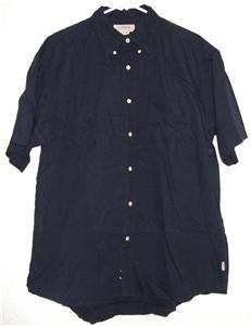 J. Crew button front shirt sz Large mens cotton 00608