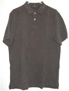 Banana Republic polo style shirt sz Large mens cotton 00609