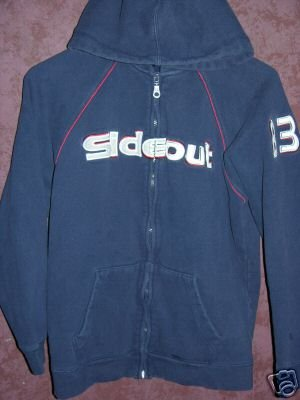 SIDEOUT Hoodie Large 14/16 00757