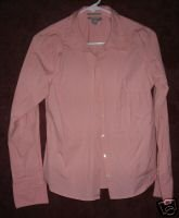 OLD NAVY Collection shirt sz Medium stretch 00763