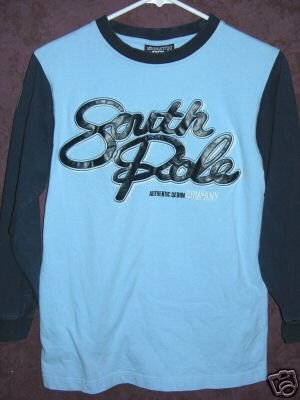 SOUTHPOLE shirt boys small 00780