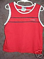 TOMMY HILFIGER shirt tank top Small 00788