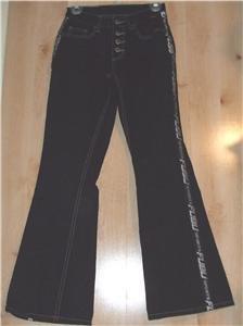 FUBU Sports denim jeans sz 3/4 juniors 00939