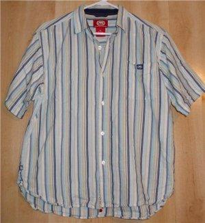 ECKO UNLTD Woven shirt boys sz XL rhino button front   001202