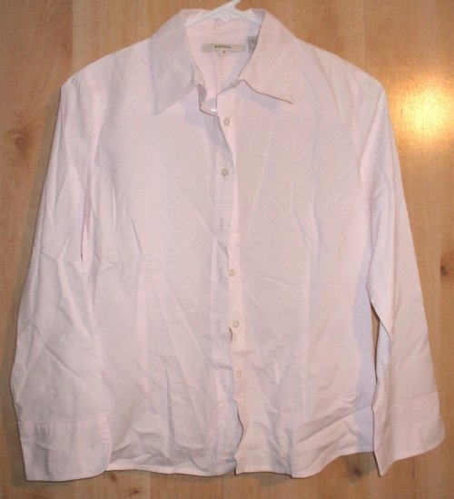 Merona button front shirt sz Small womens  001233
