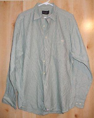 Eddie Bauer button front shirt sz Large mens EB  001259